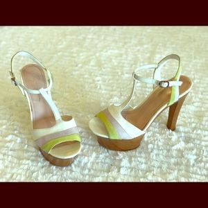 Jessica Simpson Wooden Sandal